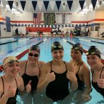 Girls Varsity Swimming wins against Shaler Area 108 – 52