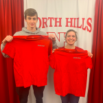 Congratulations to February's Athletes of the Month- Sponsored by Di Pietro's