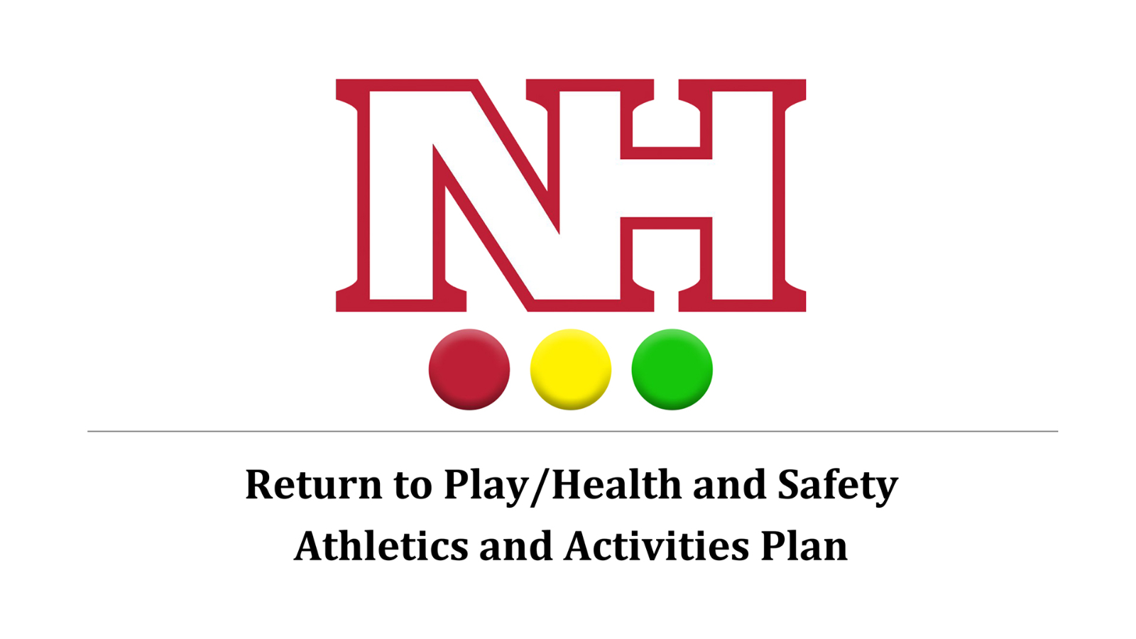 Return to Play: North Hills' Health and Safety Plan approved for athletics, activities
