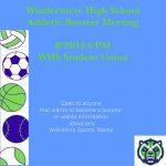 WHS Booster Meeting