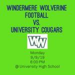 Wolverine Football @ University