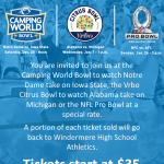 Bowl Game Fundraiser