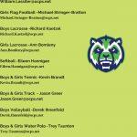 Spring Coaches Contact List