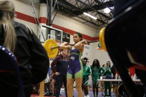 District Girls Weightlifting