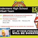 Jeremiah's Italian Ice Fundraiser for Softball