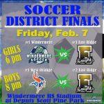 Girls & Boys Soccer District Finals