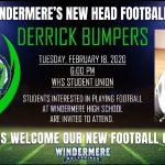 Meet New Football Coach