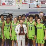 Boys Basketball Wins District Title