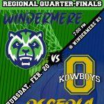 Boys Basketball Regional Quarter-Finals 2/20/20