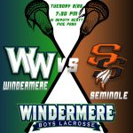 Boys Lacrosse vs Seminole HS