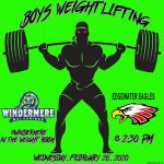 Boys Weightlifting Today vs Edgewater