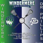 Girls Lacrosse vs Dr. Phillips