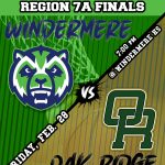 Boys Basketball vs Oak Ridge Regional Finals