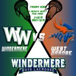 Boys Lacrosse vs West Orange