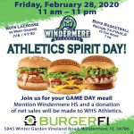 WHS Athletics Fundraiser