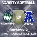 Varsity Softball vs Apopka