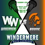 Boys Lacrosse vs Boone