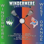 Girls Lacrosse vs West Orange