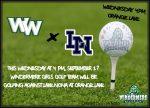 Ladies Golf vs  Lake Nona Today