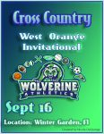 Cross Country Meet at West Orange