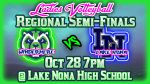 Click to Purchase Tickets to Girls Volleyball vs Lake Nona Regional Semifinals