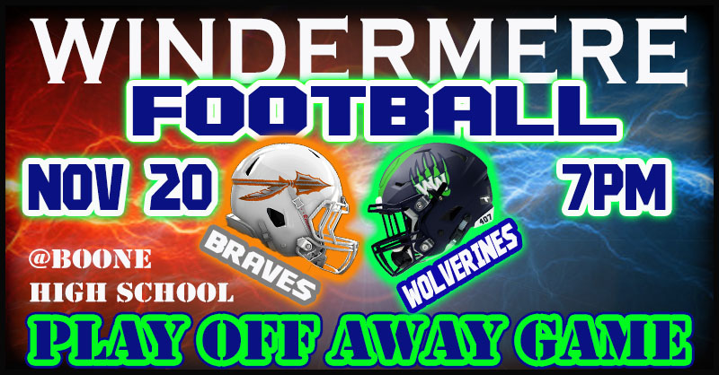 WHS vs Boone Click to Purchase Tickets