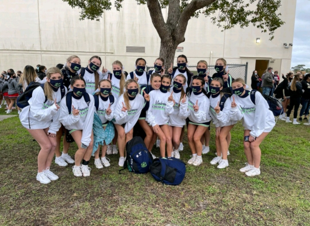 Competitive Cheer Takes First Place in Regionals