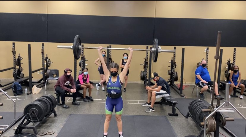 Lady Lifters Finish 3rd at Metros