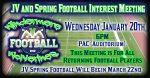 JV Football Interest Meeting