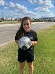 Victoria Reaches 100 Career Goals