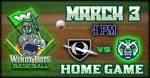 Baseball vs Olympia
