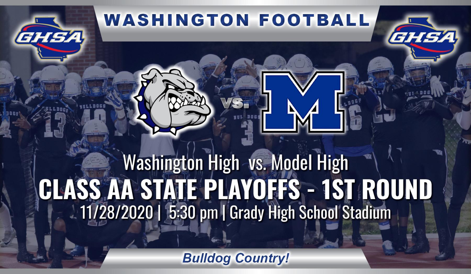 Class AA State Playoff – First Round