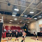 Varsity Volleyball Defeats Pendleton