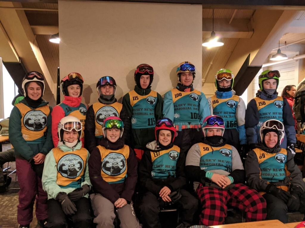 Riverhawk Ski Team Action at Timberline