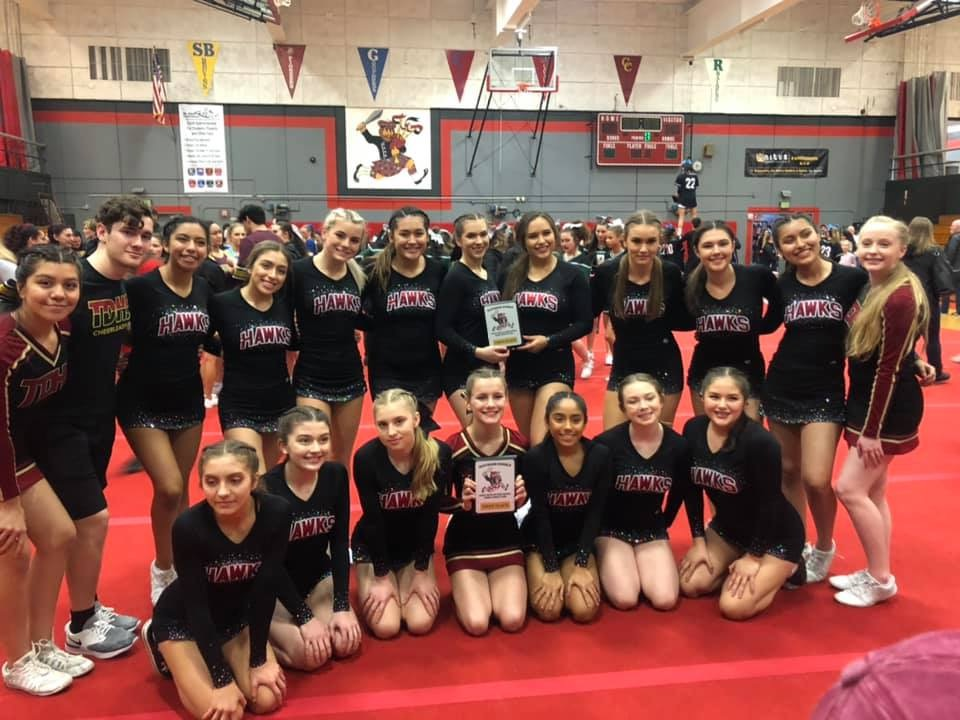 Riverhawk Cheer Take Home Two 1st Place Finishes