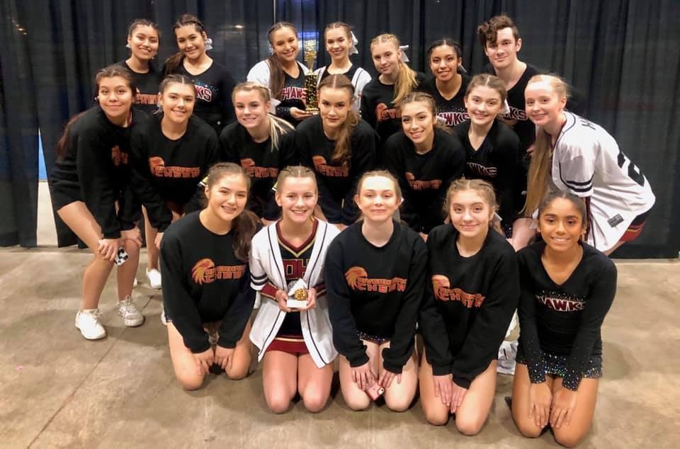 Another 1st Place Finish for Riverhawk Cheer