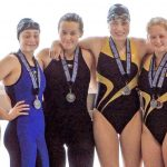 Riverhawk Swimmers Advance to State Meet.