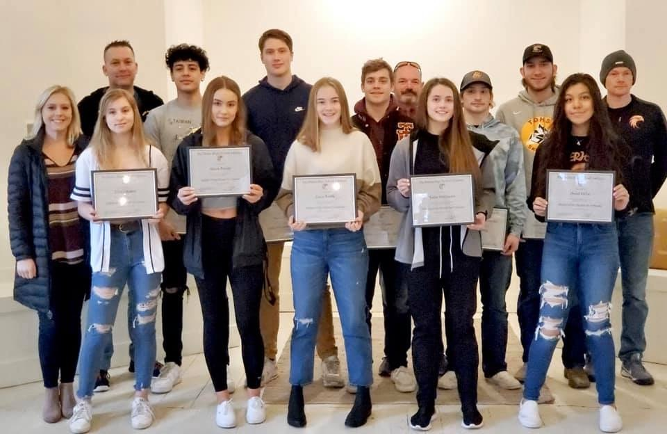 Riverhawk Athletes of the Month