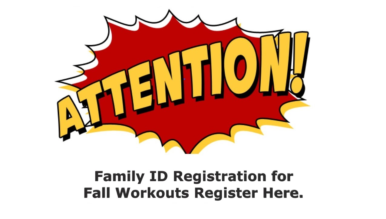 Riverhawk Athletes Workout Session Begin Tuesday September 15th.