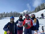 The Dalles Riverhawk Men & Women Ski Team competed today (2/17/21) at Mt. Hood Meadows