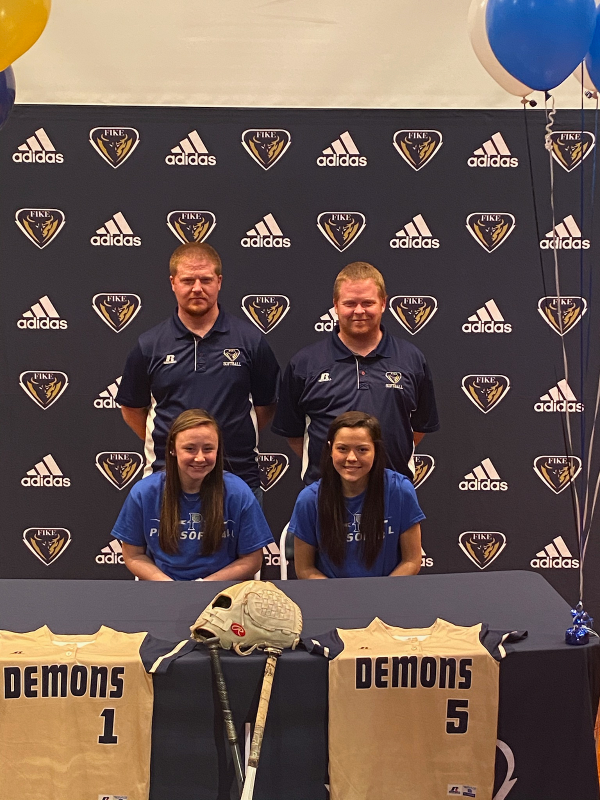 Golden Demons Softball Sends Two To The Next Level