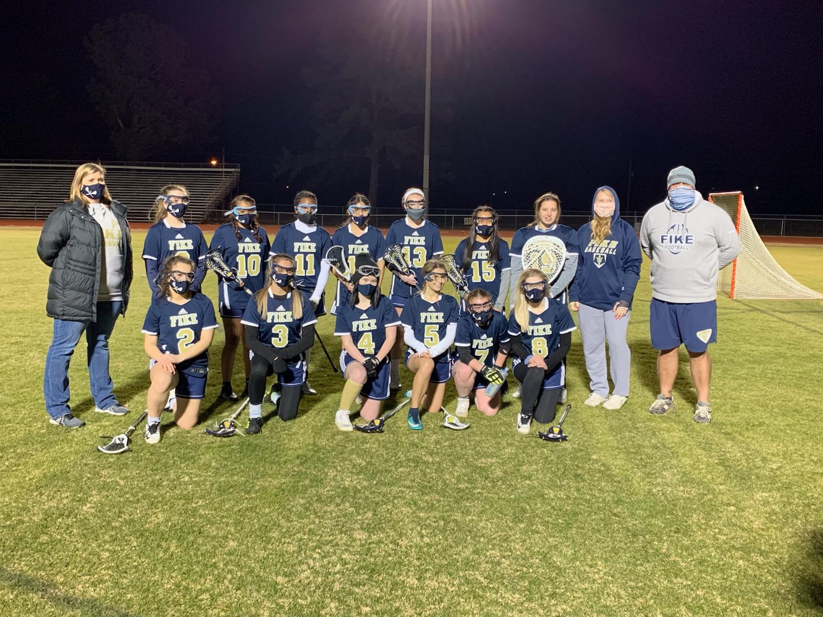 Golden Demons History Made In Inaugural Lacrosse Season