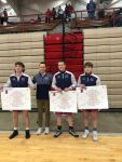Sconce, Saunders, and Bignell win Conference Indiana Wrestling Tournament