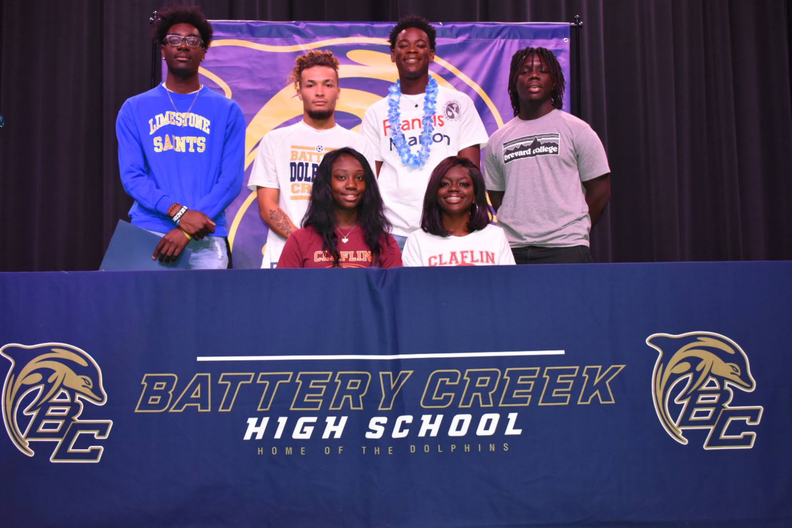 Battery Creek College Athletic Signing Ceremony