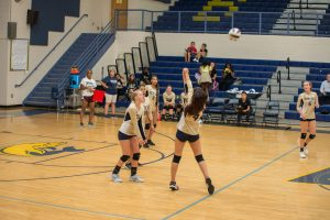 BCHS Volleyball vs. May River 8-29-19