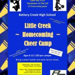 Little Creek Homecoming Cheer Camp