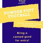 Powder Puff Football on Thursday!