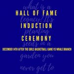 2019 BCHS Hall of Fame Induction Ceremony