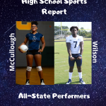 McCullough and Wilson Named to HSSR All-State Teams