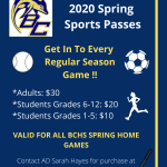 Spring Sports Passes on Sale Now!